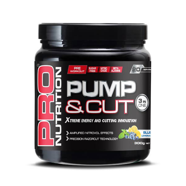 Pro Nutrition Pump-&-Cut-Pre-workout-3-in-one-300g