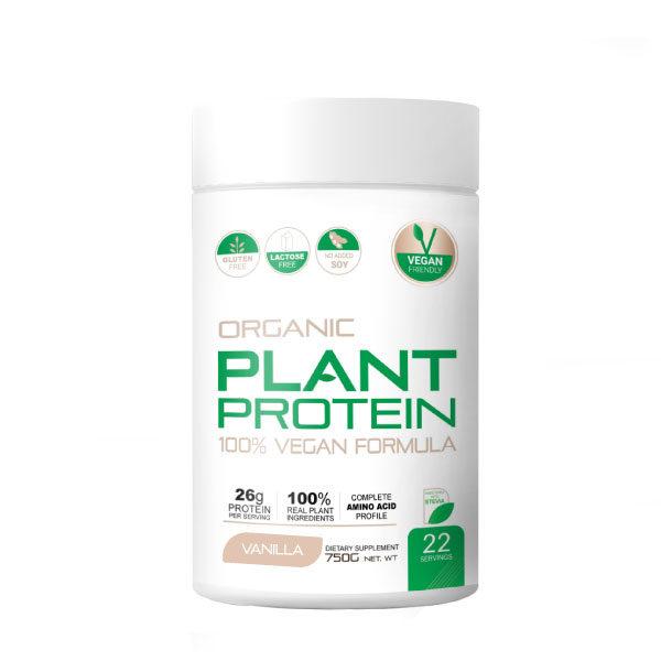 100% Organic Plant Protein 750g
